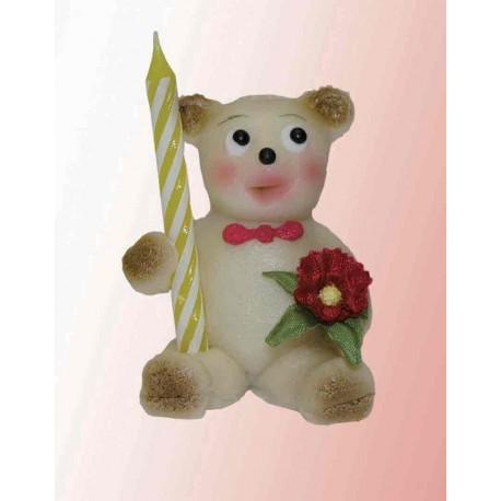 Medvídek gratulant