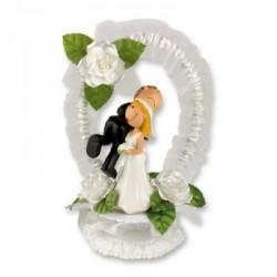 Svatební pár - nevěsta a ženich
