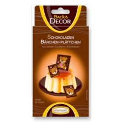Čokoládový dekor Medvídek