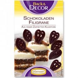 Čokoládová filigránky