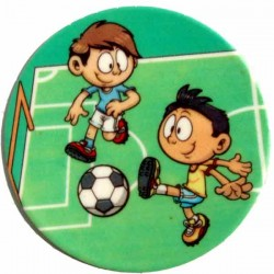 Fotbalisti -  cukrový obrázek