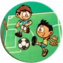 Fotbalisté -  cukrový obrázek