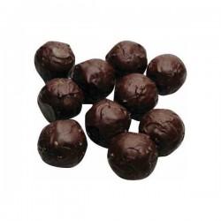 Marcipánové brambůrky v čokoládě