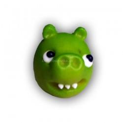 Angry Birds Zelený - marcipánová figurka na dort