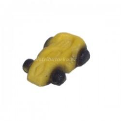 Marcipánové sportovní autíčko - žluté