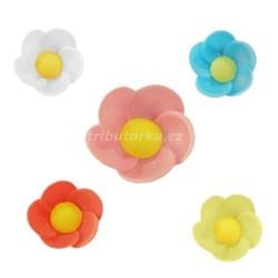 Oplatkové květy - barevný mix 100 kusů