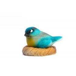 Ptáček v hnízdě modrý