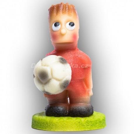 Fotbalista malý červený