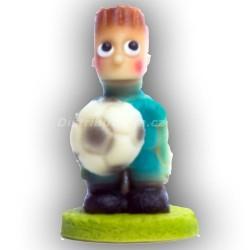 Fotbalista malý modrý