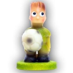 Fotbalista malý zelený
