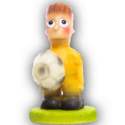 Fotbalista malý žlutý