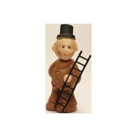 Kominík Charlie - marcipánová figurka