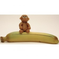 Opice na banánu
