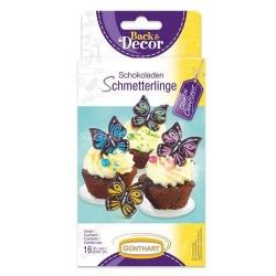 Čokoládový dekor Motýlci