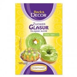 Cukrová glazura zelená 125g