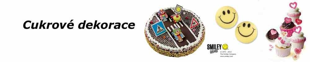Cukrové dekorace na Váš dort